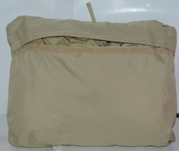 Dagan LLC LCL110 Protective Furniture Cover Large Chaise with 4 Ties Beige Pkg 1 image 2