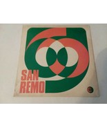 SANREMO FESTIVAL - 1969 LP - BOBBY SOLO - FREE SHIPPING!! - $14.03