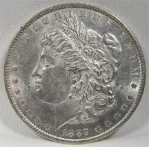 1889-P Morgan Dollar HOT-50 VAM 16 Double Ear VCH AU AE819 - $42.50