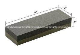 "8"" Aluminium Oxide Sharpening Stone Dual Grit Hone Knife Blade Sharpener... - $7.49"