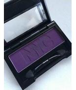 NYC Eye Shadow Single, In Vogue 910, Mono, matte dark purple full size  - €6,61 EUR