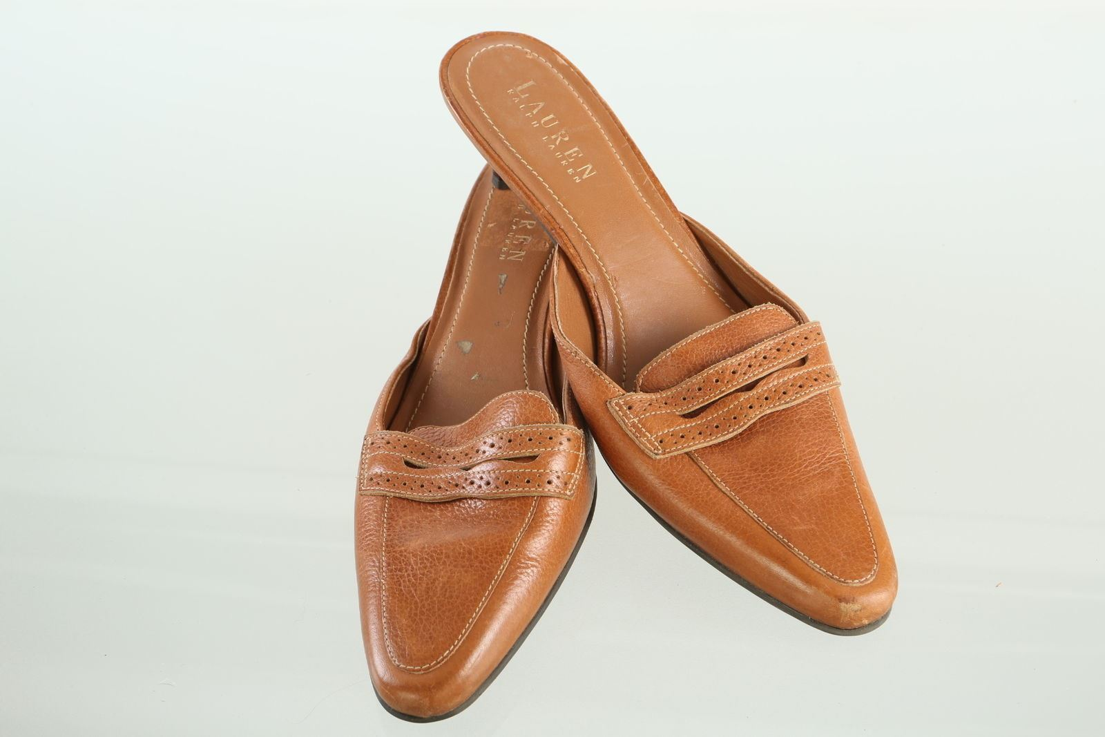 Ralph Lauren Penny Loafer Heel Sz 7.5 B and 21 similar items