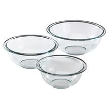 Pyrex Glass Mixing Bowl Set 3-Piece - $15.90