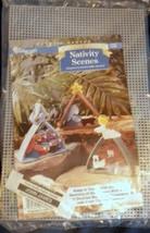 Needlecraft Shop Nativity Scene Plastic Canvas Kit Shadow Box Christmas ... - $24.99