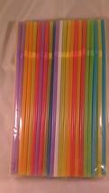 """160 Count 3/16"""" x 8 1/4"""" Plastic Straws Flex Head - $10.51 CAD"""