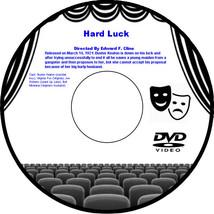Hard Luck 1921 DVD Movie Drama Buster Keaton Virginia Fox Joe Roberts Bu... - $3.99