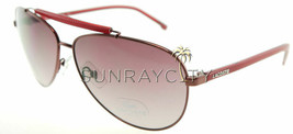 Lacoste Shiny Red / Red Aviator Sunglasses L123S 615 - $87.71