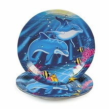 "Dolphin Paper Dinner Plates (8 Pack) 9"" - $7.69"