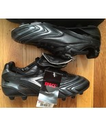 MENS Specs Absolute Professional Black Silver Soccer Cleats Shoes sz 6 B... - $49.99