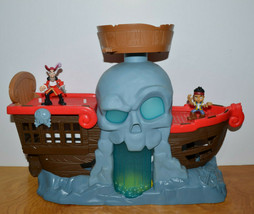JAKE AND THE NEVERLAND PIRATES BATTLE AT SHIPWRECK FALLS PLAYSET ACTION ... - $20.99