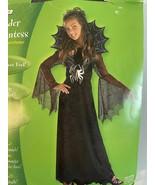 Rubies Girls Spider Countess Costume 10-12 - $32.66