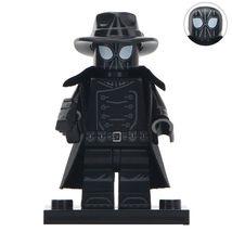 Spider-Man Noir (Spider-verse) Marvel Superhero Lego Minifigures Block T... - $1.99