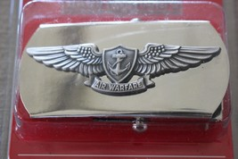 Usn Us Navy Enlisted & Petty Officer Crew's Air Warfare Warrior Belt Buckle - $21.73