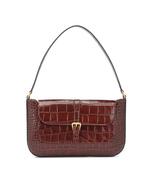 BY FAR Miranda Croc-embossed Leather Shoulder Bag - $480.00