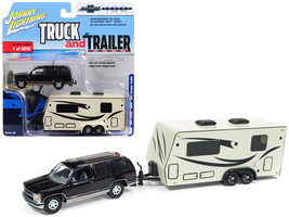 1997 Chevrolet Tahoe Dark Cherry with Camper Trailer Limited Edition to ... - $28.36