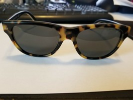 RALPH LAUREN PH4080 529987 Sunglasses Matte Yellow Brown Tortoise Vintag... - $68.31