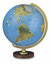 Livingston 12 Inch Illuminated Desktop World Globe By Replogle Globes - $99.95