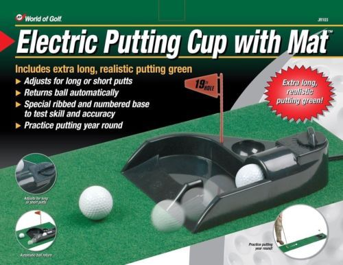Primary image for Golf Electric Putting Partner with 9-foot Foam Green Golf Trainer Aid