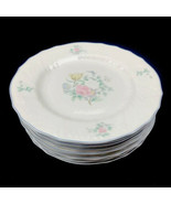 "Royal Doulton Valencia Moselle Collection 1144 1983 8"" Salad Plate Set o... - $93.12"