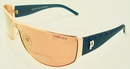 NEW STYLISH POLICE SUNGLASSES BROWN LENSES ITALIAN MADE ,7002 - $39.59