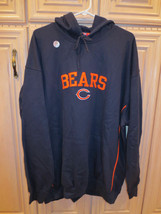 NFL Chicago Bears Hooded Sweatshirt with Front Pockets, Navy Blue (159) - $39.99