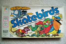 Vintage 1978 Skatebirds Board Game with Three Robonic Stooges   Hanna-Barbera - $53.29
