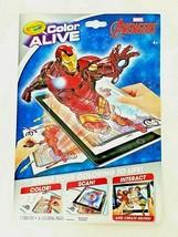 Marvel Avengers Crayola 16 Page Coloring Book 7 Crayons ~ Superheros, Ir... - $5.75