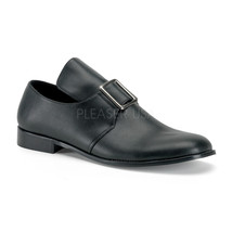 FUNTASMA Pilgrim-10 Heel Loafer - Black Pu - $45.95
