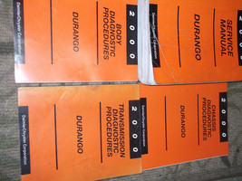 2000 Dodge Durango Service Repair Shop Manual Set OEM FACTORY DEALERSHIP... - $118.75