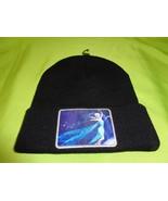 Disney Frozen Elsa Dancing Skating knitted Black Beanie Winter Hat Ice M... - $9.40
