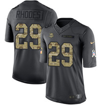 Minnesota Vikings #29 Xavier Rhodes Black Men's Stitched Limited Jersey  - $54.99