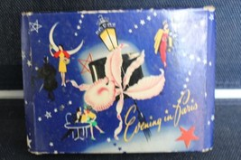 Vintage Evening in Paris Gift Set Nice Holiday Deco Box - $80.75