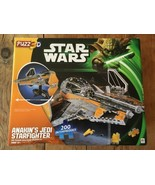 3D Star Wars Anakin's Jedi Starfighter Dimensional Puzzle 400pcs New puzz - $21.37