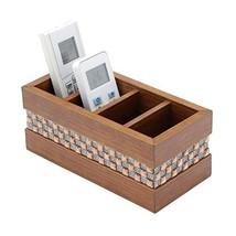 WoodArt Wooden Remote Control Holder - Caddy for Desk, Office, Pens, Pen... - $17.76