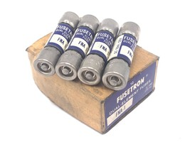 BOX OF 4 NEW COOPER BUSSMANN FUSETRON FNA-1 DUAL-ELEMENT FUSES FNA1