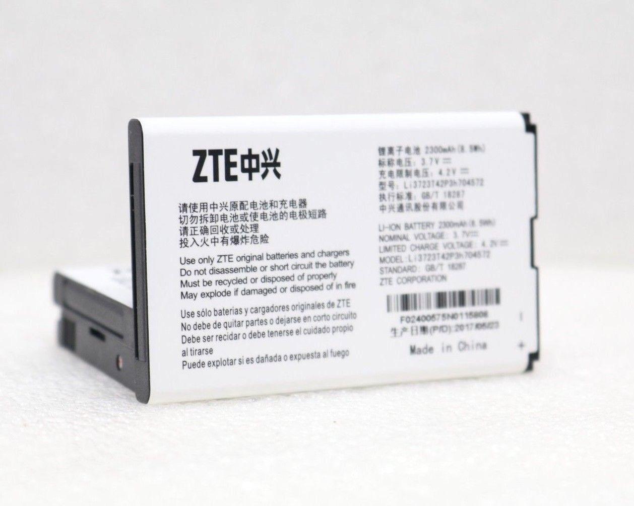 OEM ORIGINAL ZTE MF275 Turbo Hub Battery 2300mAh   4.2V