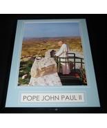 Pope John Paul II Framed 11x14 Photo Display - $32.36