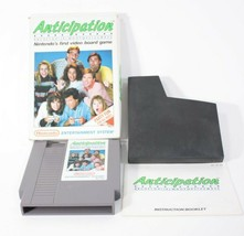 Nintendo NES Anticipation Video Board Game In Box With Manual - $21.73