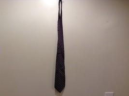 Geoffrey Beene Grey Maroon Diamond Patterned Silk Tie