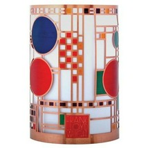 YTC 3.5 Inch Frank Lloyd Wright Collection Coonley Playhouse Votive Holder - $19.79