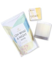 Musee All is Bright Gift Set, Oh What a Night Bath Soak, Radiate Soap, C... - $13.99