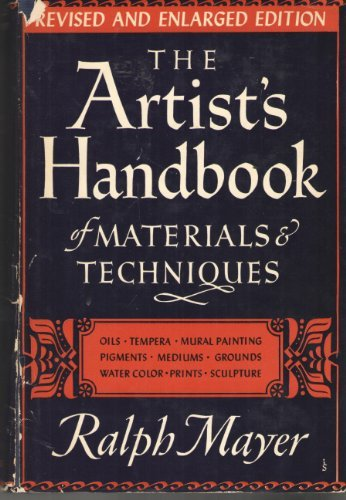 Primary image for The Artist's Handbook of Materials and Techniques [Hardcover] Ralph Mayer