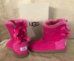 UGG Womens 5 1/2 Australia Bailey Bow Bloom Boots Twinface 3280K box Girls 4  - $84.50