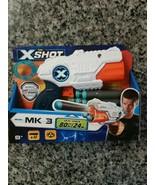 NEW ZURU X-Shot MK 3 Dart Blaster W/12 Darts Each - 36253 Foam Dart Toy Gun - $9.87