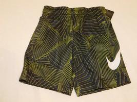 NWT Boy/'s Nike Dri-Fit Avalanche Shorts Gray//Black//White XL M