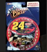 Jeff Gordon #24 Die-Cast Collector Driver Sticker Series RCC AAA19-NC8016 image 4