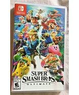 Super Smash Bros. Ultimate Game (Nintendo Switch, 2018) Brand New - $44.00
