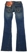 True Religion Women's Denim Jeans Joey Leather Pocket 83 - Med Savana 10503VNL