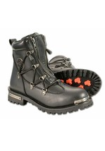 WOMEN'S TWIN ZIPPER FRONT ENTRY BOOT W/ ROUND TOE . MBL9375 - $119.99
