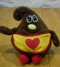 Nestle 1984 SEMI-SWEETIE CHOCOLATE CHIP CHARACTER  Heart Apron Stuffed A... - $19.80